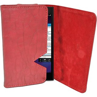 Totta Wallet Case Cover for Archos 45 Titanium (Red)