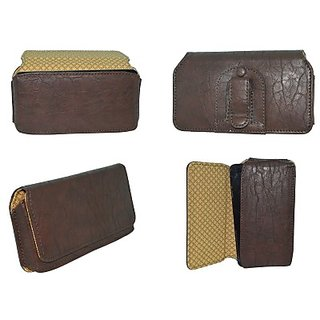 Totta Holster for iBall Andi 5Q Cobalt Solus (Brown)