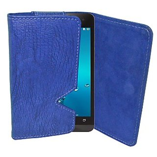 Totta Wallet Case Cover for Philips Xenium I908 (Blue)