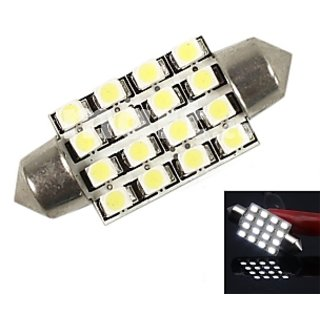 16 SMD Dome / Roof Light For Car White in Color Big SMD Bright Light