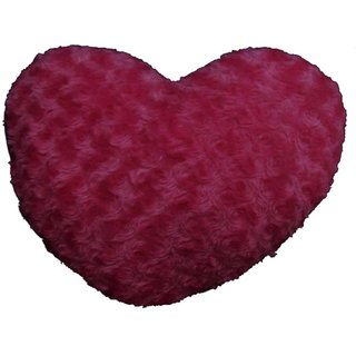 Tickles Pink Heart Cushion Stuffed Soft Plush Toy 36 cm