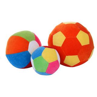 Deals India Soft toy balls (set of 3)