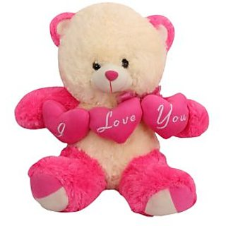 Buy tickles pink charming teddy with i love you heart stuffed soft tickles pink charming teddy with i love you heart stuffed soft plush toy teddy bear 43 altavistaventures Choice Image