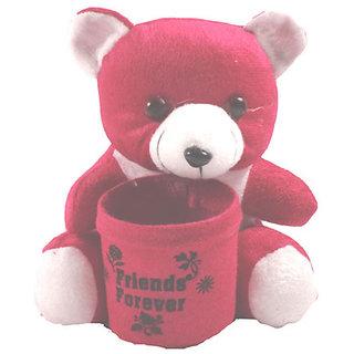 Small cute soft teddy bear