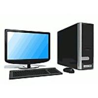 Intel core 2due desktop 17inch lcd