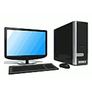 Intel core 2due desktop 17inch lcd