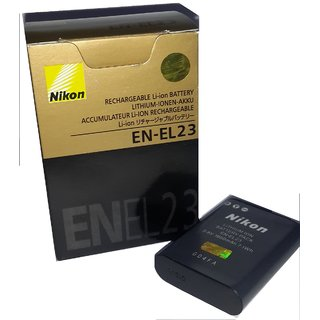 NIKON EN EL23 BATTERY FOR NIKON P600   6 MONTH SELLER REPLACEMENT WARRANTY  Battery