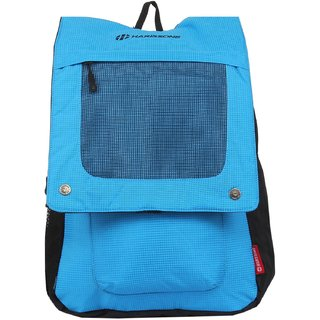 Harissons Carbonite Blue Polyester Backpack