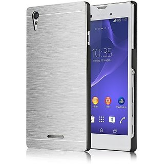 Smart Solution Back Cover for Sony Xperia C4(Metalic Silver)