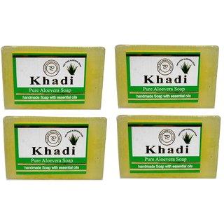 Khadi Pure Aloevera Soap set of 4 (500gm)