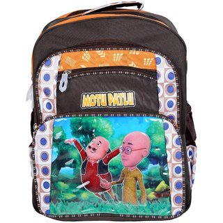 Cartoon Printed Boys School Bag