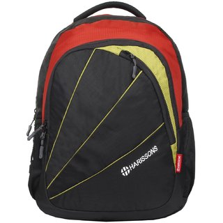 Harissons Perky Red Polyester Backpack