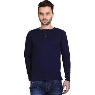 d1bb3991 Buy AVE Fashion Cotton Blend Henley T-shirt For Mens Online - Get 43 ...