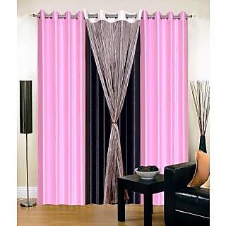 ShopSince Stylish Door Curtains Set of 4