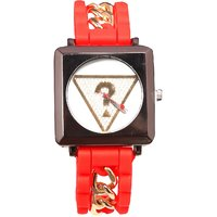 Women Erd With Chine Belt With Nice Look Dial Girls And