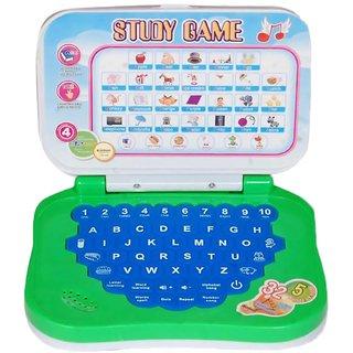 Zaprap Small Kids english Learning Educational Laptop