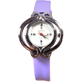 Women sliver White Analog casual Nice girls Watches