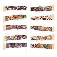 Tattoo Arm Sleeves For Sun Protection Set Of 10