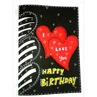 I Love You Happy Birthday Card