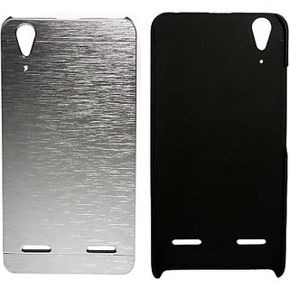 Totta Back Cover for Lenovo S660         (Black)