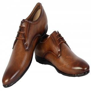 ShoeAdda High Class Corporate Formal Shoe Brown 8012