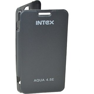 Totta Flip Cover for Intex Aqua Dream 2         (Black)