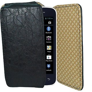 Totta Holster for Iball Andi 4 IPS Velvet         (Black)