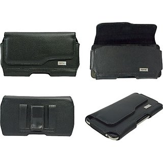 Totta Holster for Micromax Canvas A105         (Black)