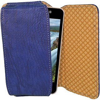 Totta Pouch for iBall Andi 4.5 Ripple 3G         (Blue)