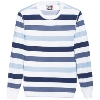 Zobello Long Sleeve Stripe Sweatshirt