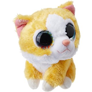 Sweet and Sassy Lil Orange Cat Butterscotch, Yellow (5-inch)