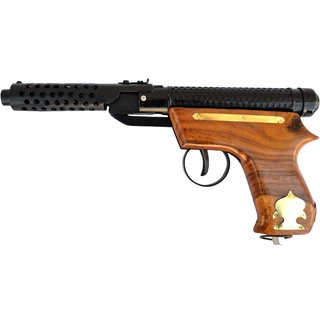 TOY AIR GUN (BULLET) MARK 2 (100 PELLETS FREE) NO LICENCE REQUIRED - WOODEN