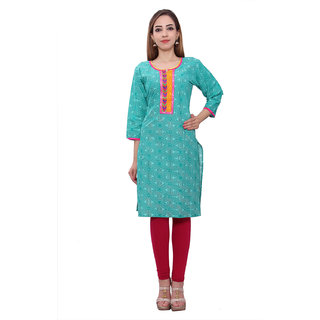 Sudha Fashion Printed Cotton Kurti