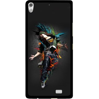Snooky Designer Print Hard Back Case Cover For Gionee Elife S5.1