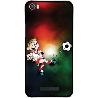 Snooky Designer Print Hard Back Case Cover For Lava Iris X8