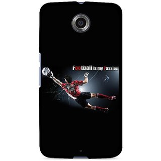 Snooky Designer Print Hard Back Case Cover For Motorola Nexus 6