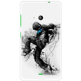 Snooky Designer Print Hard Back Case Cover For Microsoft Lumia 535