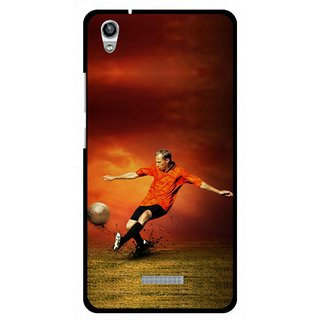 Snooky Digital Print Hard Back Case Cover For Lava Iris X9