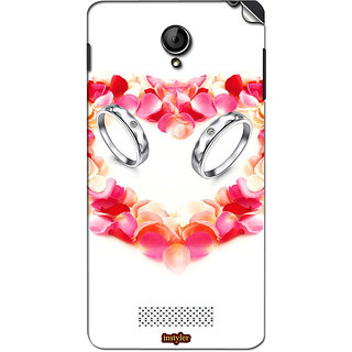 Instyler Mobile Skin Sticker For Xolo Q1000