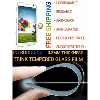 Unbreakable fibre screen protector better than tempered glass forMoto G