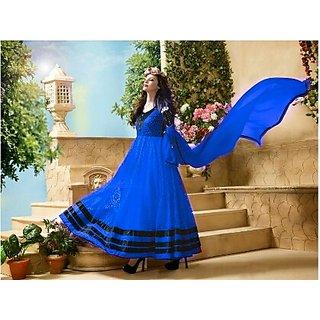 Womens Anarkali Dress Material