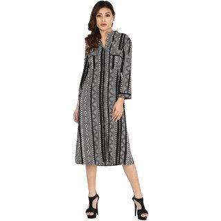InDzone Womens A-line Dress