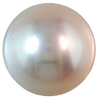 Ankit Collection 3.65 Carat / 4 Ratti Certified Pearl (MOTI) Astrological Gem Stone (AC056PEARL)