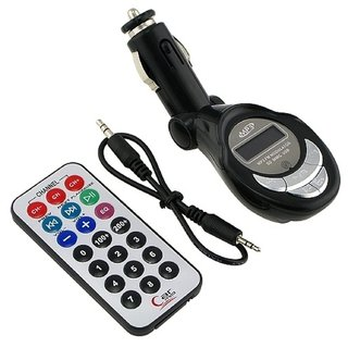 Dreamcode Car Mp3 Player Fm Transmitter Black