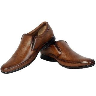 ShoeAdda High Class Corporate Formal Shoe Brown 7012