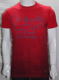 Valtro Mens Casual Tshirts Red