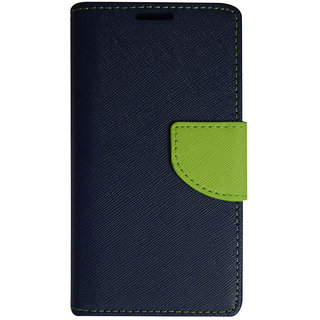 Colorcase Flip Cover Case for Samsung Galaxy On5 - Blue  Green