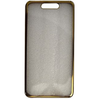 buy online 340ef 13a5b Colorcase Back Cover Case for Reliance Jio Lyf Earth 1 - (Golden Border)