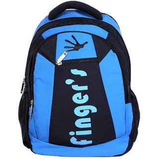 Fingers School/College Bag (Sky-Blue)