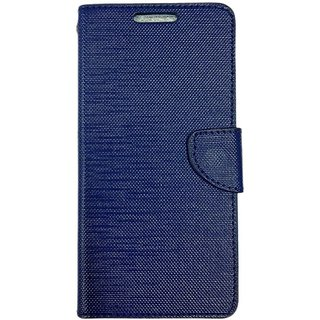 Colorcase Flip Cover Case for Infocus Bingo 50 - Blue